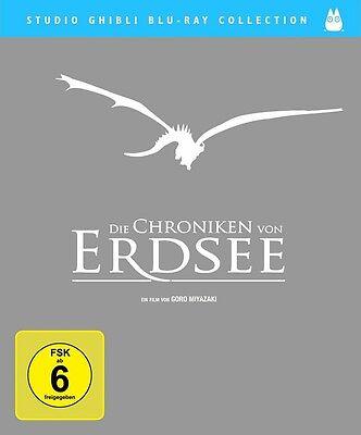 Blu-ray * Die Chroniken von Erdsee (Studio Ghibli Collection) * NEU OVP