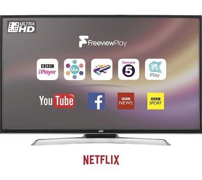 "JVC LT-49C870 49"" Smart 4K Ultra HD LED TV - Currys"