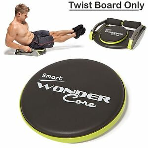 wonder core wondercore twist board fitness body exercise. Black Bedroom Furniture Sets. Home Design Ideas