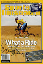 Lance Armstrong Sports Illustrated Autograph Replica Poster - What a Ride!
