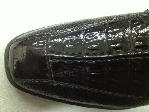 Men/'s dress shoes animal//lizard//alligator print man-made leather by Milano #5747