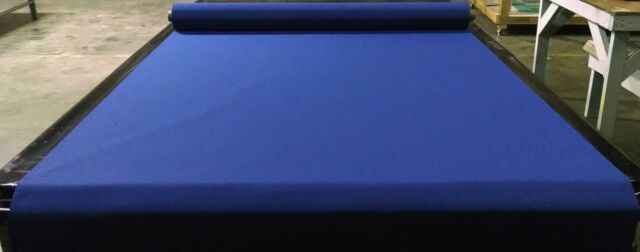 "1 YARD X 60/"" MARINE BOAT 4800033A SUNBRELLA SEAMARK BLUE FABRIC"