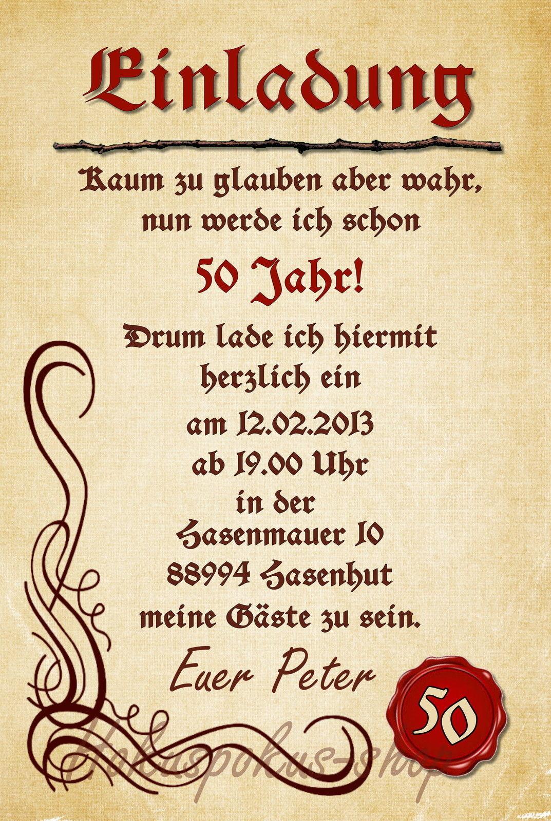 50 Drôle anniversaire invitation cartes anniversaire Drôle Invitations Chaque âge possible 4ac7df