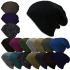 Women Mens Knit Winter Baggy Beanie Beret Hat Winter Warm Oversized Skull Cap