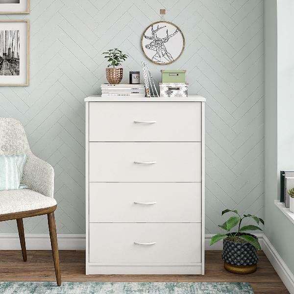 Wildon Home Louis Philip 4 Drawer Media