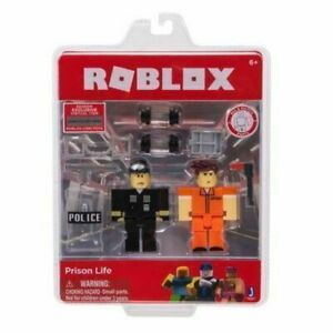 ROBLOX Jailbreak Game 2 Figures Pack Action Toy Figure