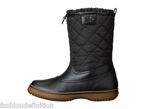 New Coach Women Samara Black Quilted All Weather Winter