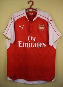 Image is loading Arsenal-London-2015-206-Home-official-puma-jersey- 08e9bebf3