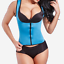 Fajas-Reductoras-Colombianas-Body-Shaper-Sauna-Waist-Trainer-Shapewear-Zip-Vest miniature 9