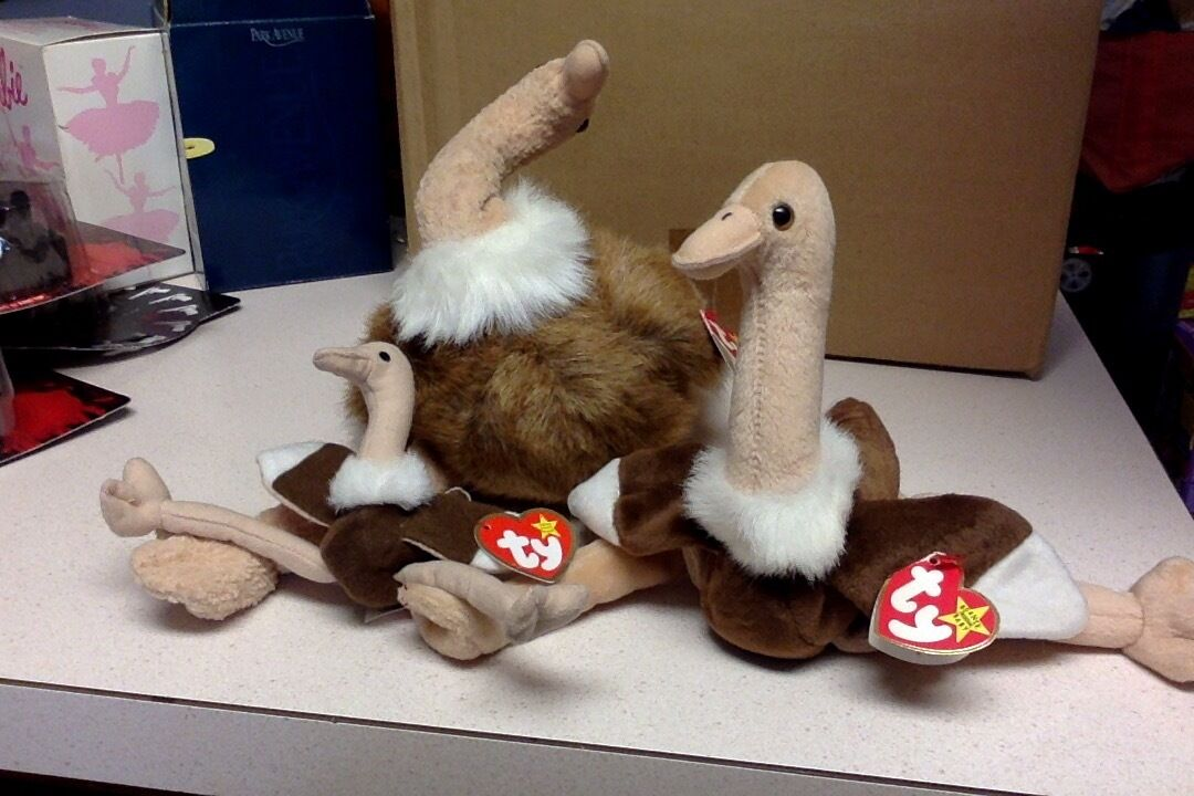 TY Beanie Baby Stretch Collection