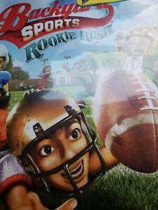 Backyard Sports Rookie Rush Microsoft Xbox 360 2010 MS ...