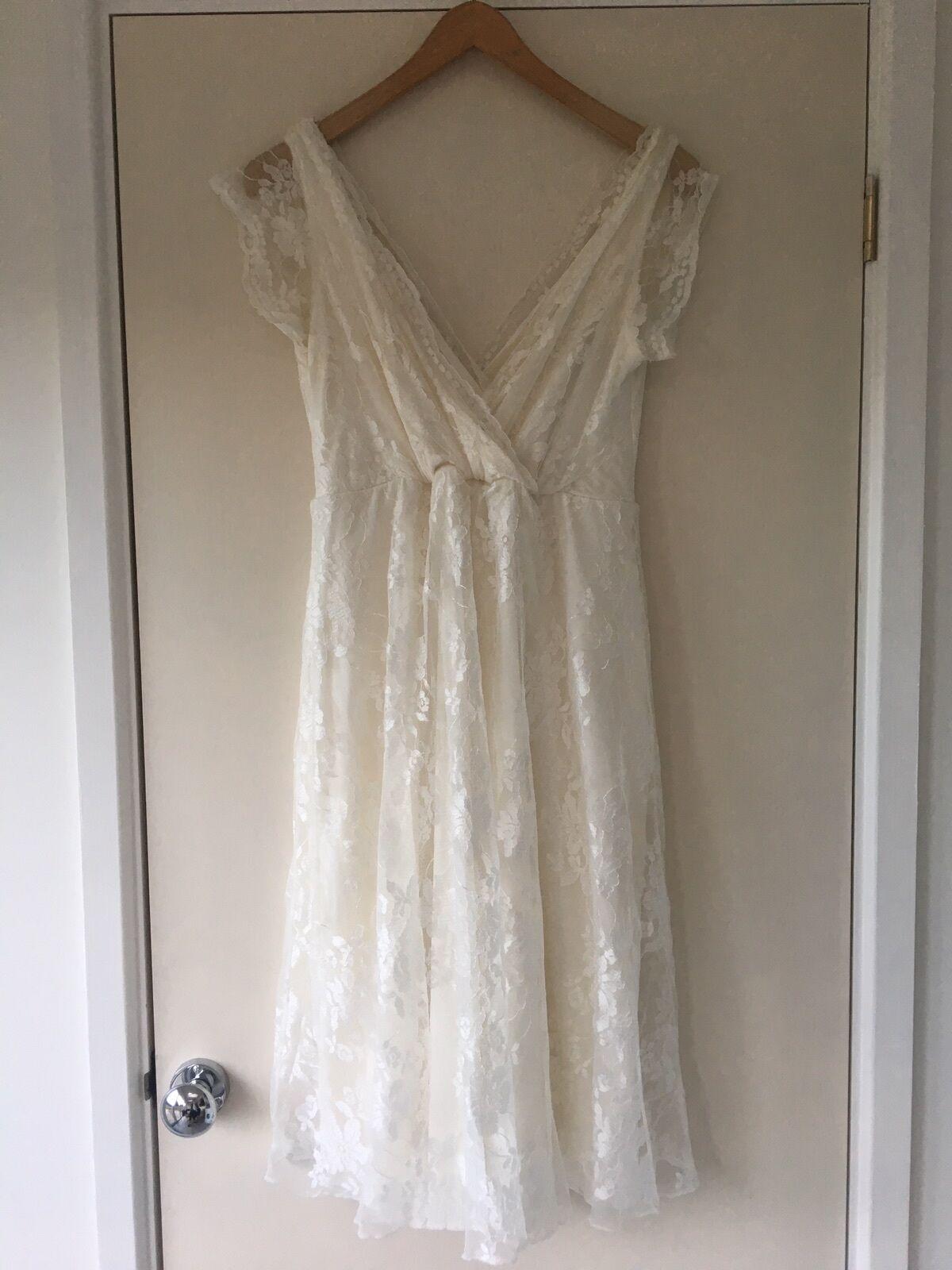Maternity Wedding Dress Size 8-10
