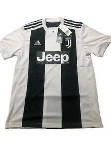 New Adidas Juventus Home Jersey 2018/19. CF3489. Men's Size Medium. MSRP. $90