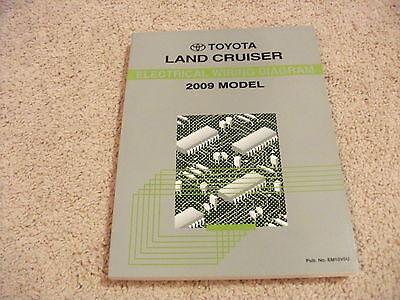 2009 Toyota LAND CRUISER Electrical Wiring Diagram Manual ...