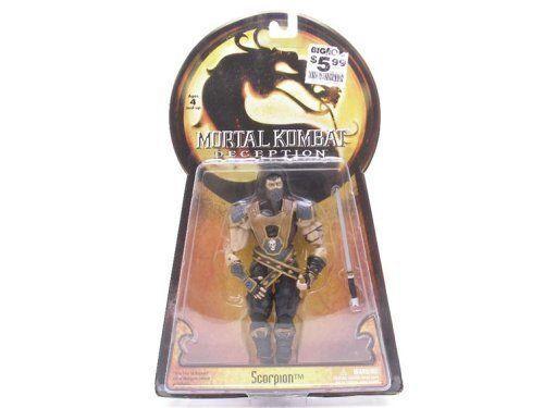 Mortal Kombat Deception Scorpion Series 1 Action Figure Sealed