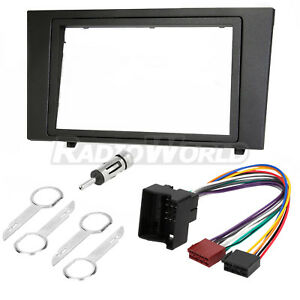 Ford-Mondeo-Double-Din-Car-Stereo-Radio-Fascia-Fitting-Kit-Surround-DFP-07-07
