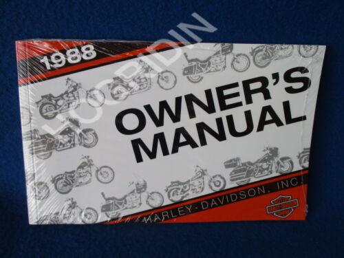 1988 Harley Davidson sportster touring softail dyna fatboy ultra ...