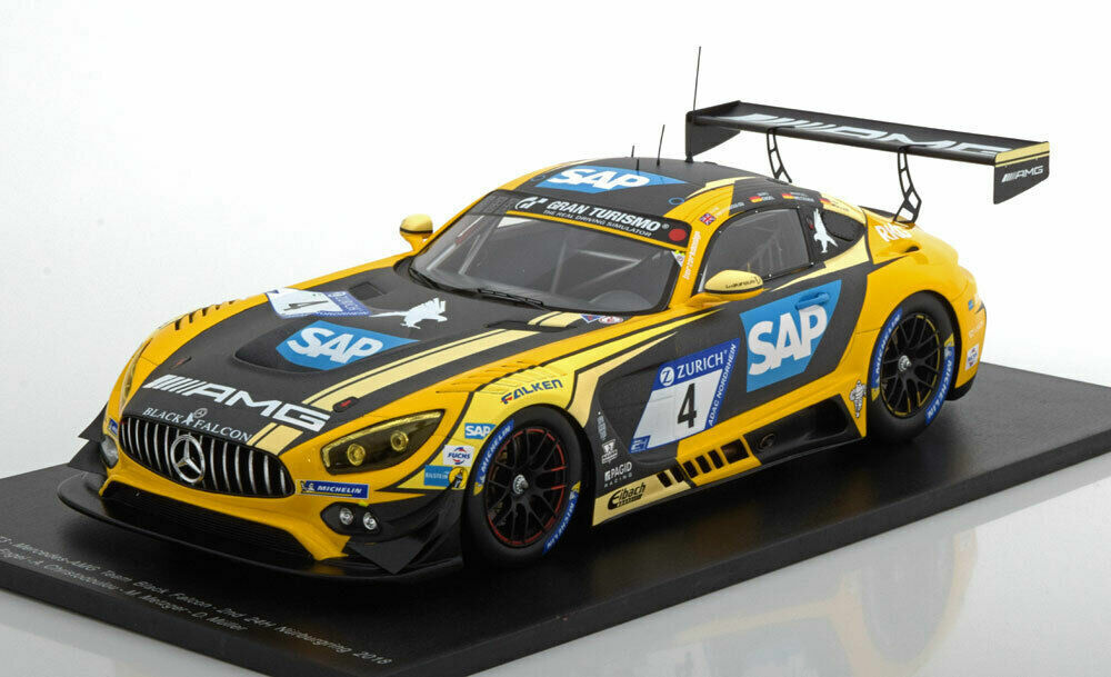 SPARK 2018 Mercedes AMG GT3  4 2nd 24 H Nurburgring le 300pcs 1 18  Brand New