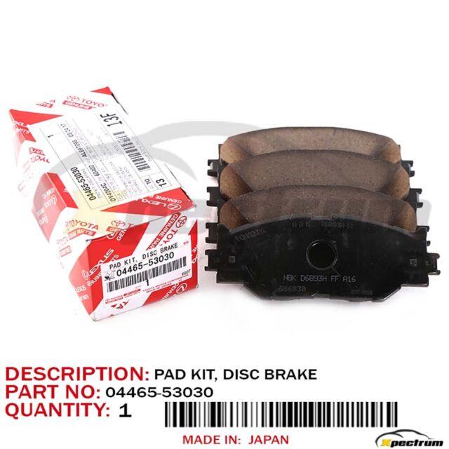 OEM Rear Ceramic Brake Pad Set For Hyundai Accent 2006-2008