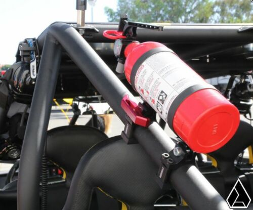 "Assault Industries UTV Quick Release Billet Fire Extinguisher Kit 2/"" Clamp"