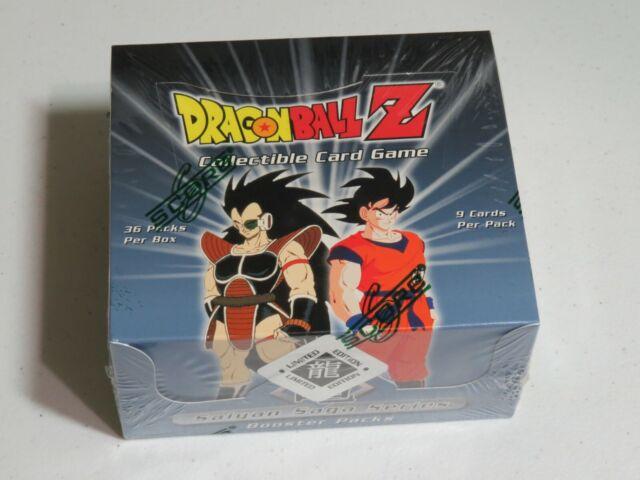 DragonballZ DBZ Cell Games Saga Booster Pack Score Sealed Free Shipping!
