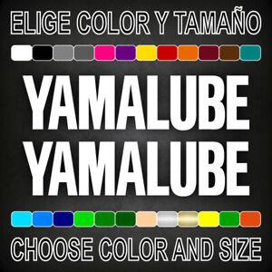 Vinilo-adhesivo-YAMALUBE-2-unidades-pegatina-aufkleber-logo-moto-decal
