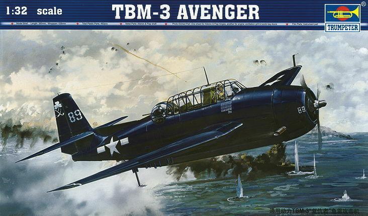 Trumpeter 02234 - 1 32 Grumman TBF-3 Avenger - Neu  | Shopping Online