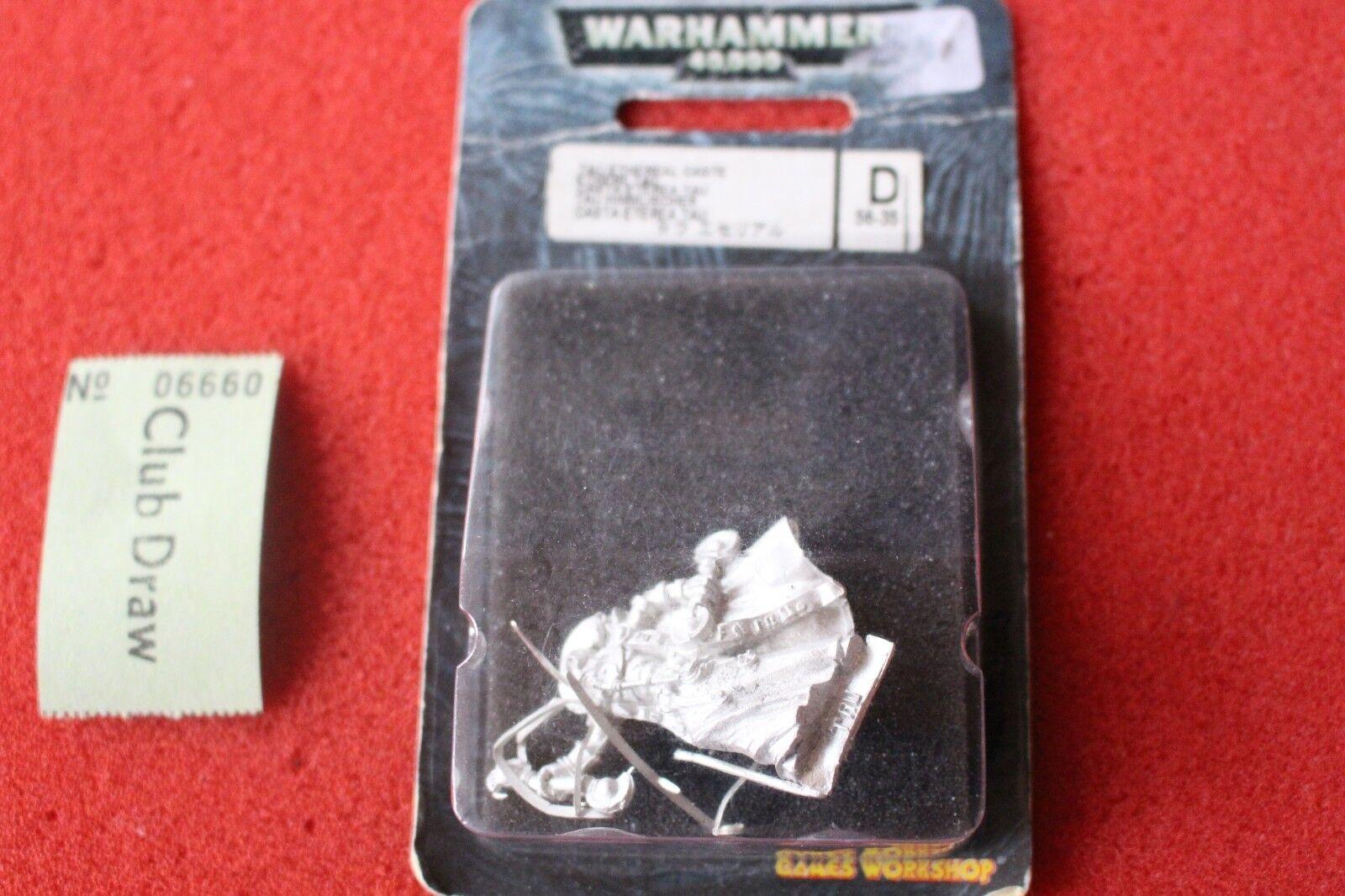 Games Workshop Warhammer 40k Tau Empire Ethereal Hand Blade Metal BNIB New OOP