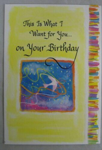 "Blue Mountain Arts Greeting Card /""Your Birthday/"" BM254"