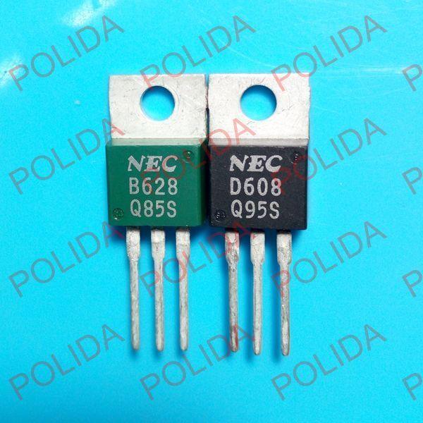 1 pares o 2PCS Transistor Nec TO-220 2SB628/2SD608 B628/D608