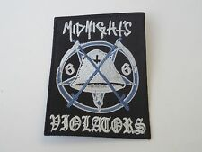 MIDNIGHT MIDNIGHT'S VIOLATORS EMBROIDERED PATCH