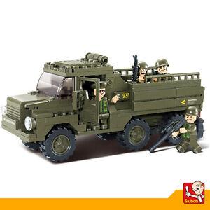 Juguete-Educativo-de-Construccion-SLUBAN-Vehiculo-Militar-230PZS-M38-B0301