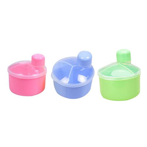 Baby Food Storage Portable Milk Powder Formula Dispenser Bottles Safety Box MAL
