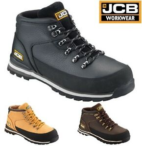 e8b69d59524 Details about JCB 3CX MENS S3 LEATHER SAFETY WATERPROOF WORK BOOTS STEEL  TOE CAP WIDE FIT SIZE