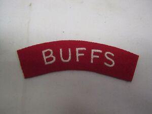Patch-WW2-BUFFS-Shoulder-Title-Patch-Cloth-Badge