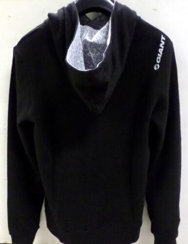 GIANT bicycles felpa uomo cappuccio nera man sweatshirt bike black hooded HOOD