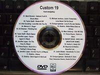Custom Mix Vol 19 Music Video Dvd Bruno Mars Jlo Shakira Prince Royce Snoop Dogg