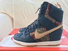 Nike Dunk Sky Hi Sneakerboot Liberty Size 4 UK Women's. DS. 632180-402