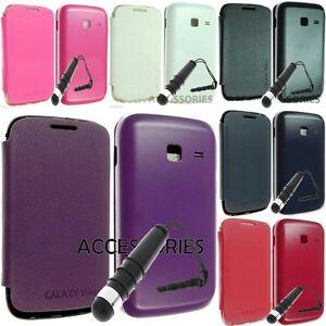 Bateria-Funda-Protectora-Flip-Cuero-Pouch-Para-Samsung-Galaxy-Y-Duos-S6102-Gt-s6102