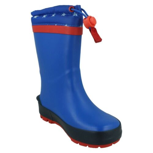 BOYS GIRLS CLARKS MUDDER RACE INFANT TOGGLE KIDS CASUAL WELLINGTON BOOTS SIZE
