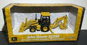 JOHN DEERE 310SE Backhoe Loader - DIE CAST ERTL - 1/50 Scale #5769 - NEW IN BOX