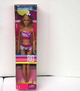 Barbie-Rio-de-Janeiro-2002-BRAND-New-In-Box-Blonde-Model-56880