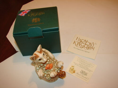 New In Box Back Scratch II Details about  /1 HARMONY KINGDOM UK Treasure Jests Cat