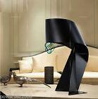 LT- Simplicity Metal Black Diameter 24cm Height 37cm Creative Tie Table Lamp