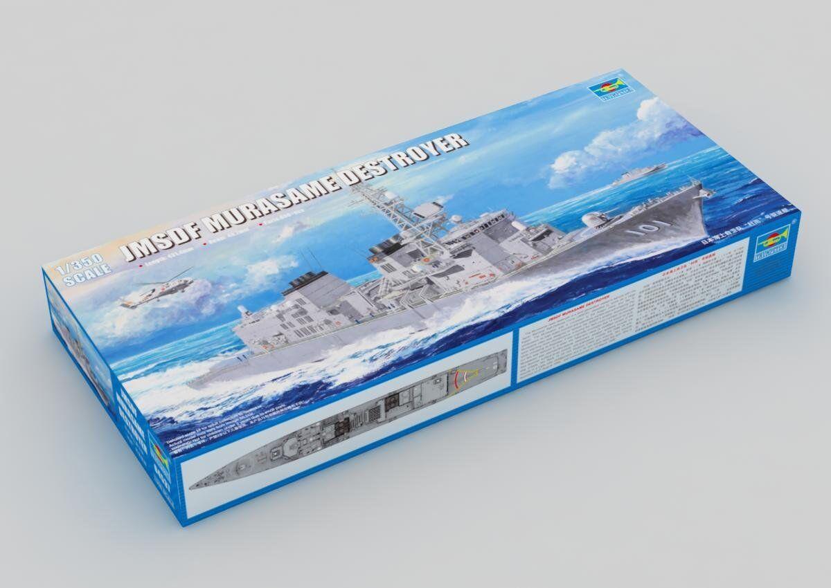04537 trumpetare 1  350 Förlaga JMSDF MURAAME Destroyer Chaser Plastic Kit