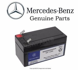 Mercedes benz w216 w164 cl550 auxiliary battery genuine for Genuine mercedes benz battery