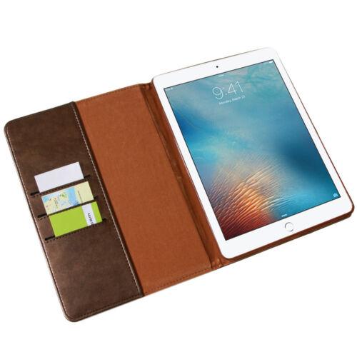 TABLET BORSA COVER SMART CASE LUSSO Custodia Protettiva in Pelle Apple iPad 2017 iPad 5
