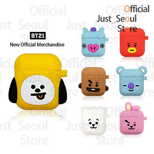 Official BTS BT21 Cube Jelly Airpods Case Cover+Freebie+Free Tracking Kpop