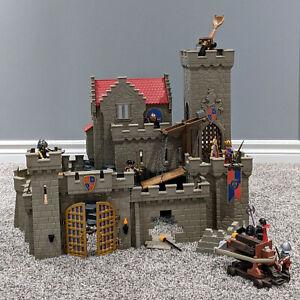 Playmobil-Lion-Royal-Lion-Knight-039-s-6000-CASTLE-Figures-Extras-Incomplete-Fun-Set