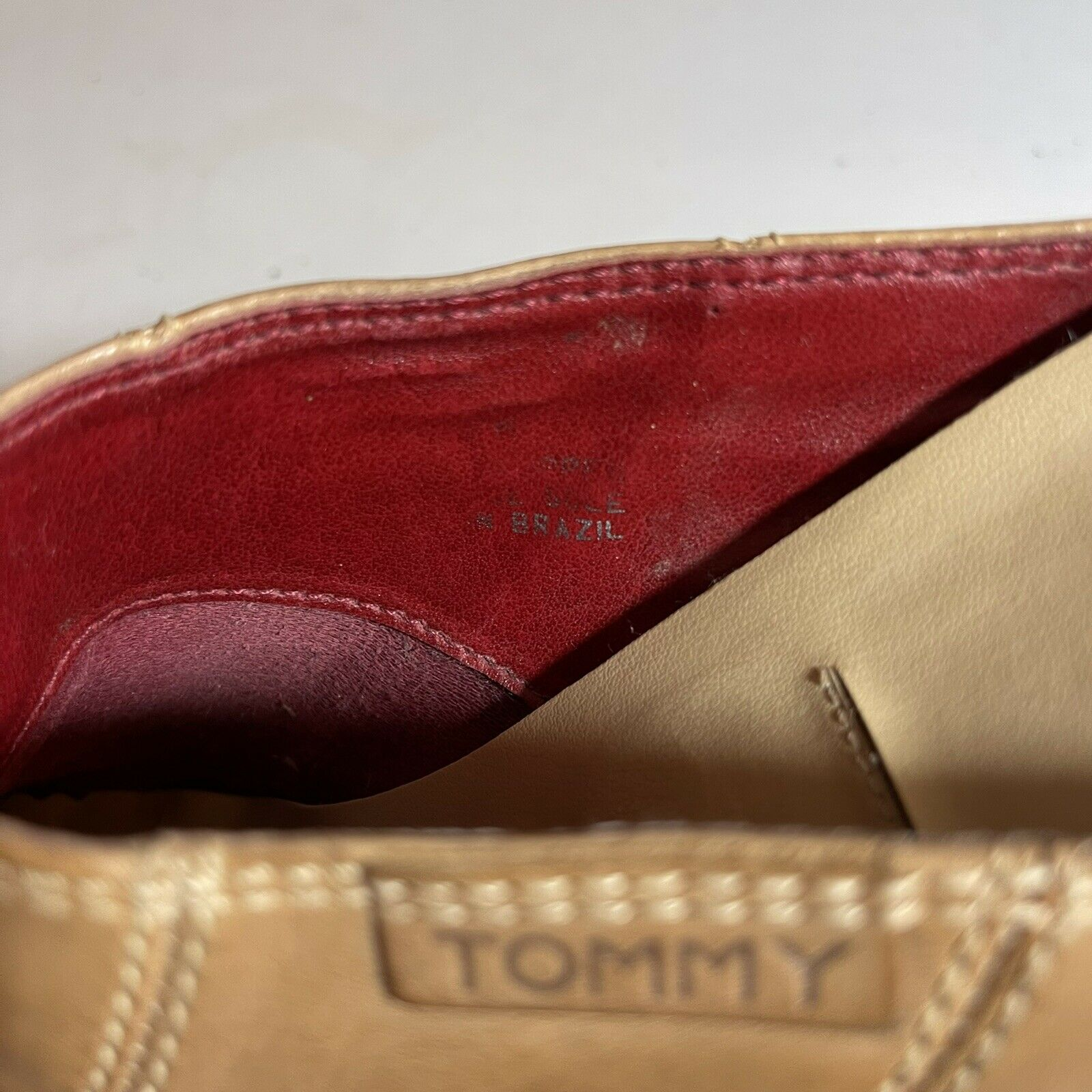 Tommy Hilfiger Leather Clogs Mules Womens 7-7.5 T… - image 6